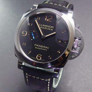 パネライ(PANERAI)の美品 2018年購入 T番 パネライ PAM01359 ルミノールマリーナ (腕時計(アナログ))