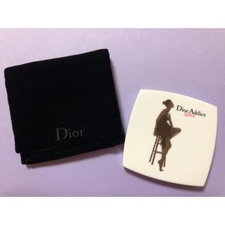 Dior - 新品・未使用 Dior 布ケース付きコンパクトミラー○*毎日郵送致します*○