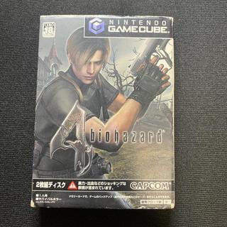 ニンテンドーゲームキューブ(ニンテンドーゲームキューブ)のバイオハザード4 GC(家庭用ゲームソフト)