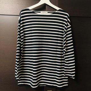 ジャーナルスタンダード(JOURNAL STANDARD)のJournal Standard ボーダー Tシャツ ホワイト ブラック(Tシャツ/カットソー(七分/長袖))