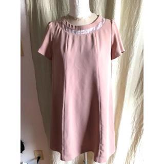 プロポーションボディドレッシング(PROPORTION BODY DRESSING)のproportion body dressing ピンクベージュワンピース(ひざ丈ワンピース)