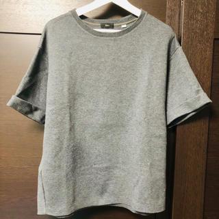 エディション(Edition)のEdition Tomorrowland 半袖 Tシャツ スウェット グレー(Tシャツ/カットソー(半袖/袖なし))