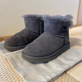 アグ(UGG)のUGG ムートンブーツ 19cm グレー(ブーツ)