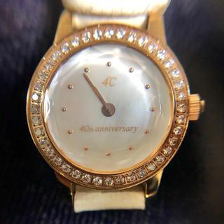 ヨンドシー(4℃)の4°C 腕時計 40周年(腕時計)