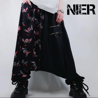【NieR】TWO-TONE Sarrouel pants【Sickness】
