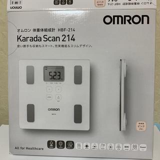 オムロン(OMRON)のオムロン 体重体組成計 HBF-214(体重計)