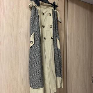 アメリヴィンテージ(Ameri VINTAGE)のアメリビンテージ チェックスカート(ロングスカート)
