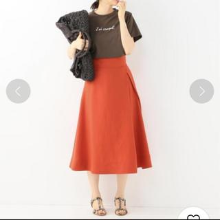 スピックアンドスパン(Spick and Span)のスピックアンドスパン 秋色スカート(ひざ丈スカート)