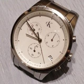 カルバンクライン(Calvin Klein)のCalvin Klein カルバンクライン クロノグラフ 腕時計 【電池交換済】(腕時計(アナログ))