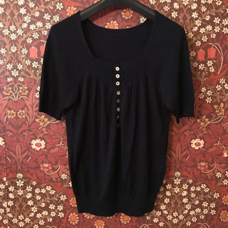 ギャミヌリィ(gaminerie)の【gaminerie】ボタン付きセーター 2サイズ(ニット/セーター)