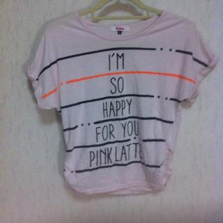 ピンクラテ(PINK-latte)のピンクラテ♡シャツ(カットソー(半袖/袖なし))