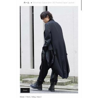 ヨウジヤマモト(Yohji Yamamoto)の【新品未使用】Yohjiyamamoto 19aw ロングジャケット コート(チェスターコート)