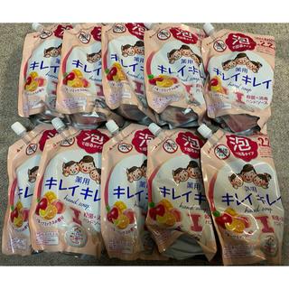 LION - キレイキレイ泡ハンドソープ詰め替え用 フルーツミックスの香り 450ml*10