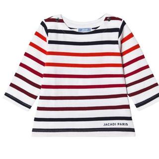 ジャカディ(Jacadi)のJacadi♡ボーダー ロングTシャツ 24m 1点のみ!(Tシャツ/カットソー)