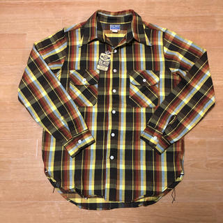 ザリアルマッコイズ(THE REAL McCOY'S)の未使用品 THE REAL McCOY'S ヘビー フランネルシャツ 15(シャツ)