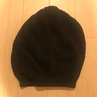ムルーア(MURUA)のMURUA ニット帽 試着のみ(ニット帽/ビーニー)