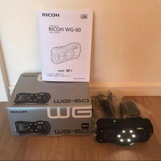 RICOH - 美品 RICOH WG-60 リコー ricoh 防水カメラ ブラック