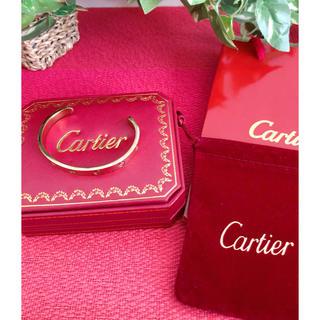 カルティエ(Cartier)の大人気!Cartier カルティエ ブレスレット ラブブレス オープンバングル(ブレスレット/バングル)