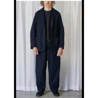 コモリ(COMOLI)のcomoli コモリ  17aw コットンツイルジャケット 今週のみ値下げ(セットアップ)