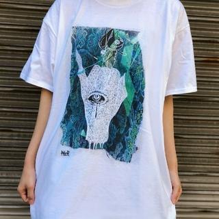 セックスポット(SEXPOT)のNieR   SWEAR  LONG  T白(Tシャツ/カットソー(七分/長袖))
