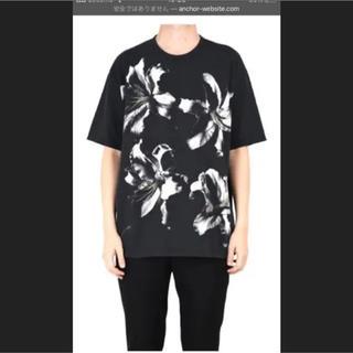 ラッドミュージシャン(LAD MUSICIAN)のLAD MUSICIAN リリィビッグTシャツ 百合柄 18ss(Tシャツ/カットソー(半袖/袖なし))