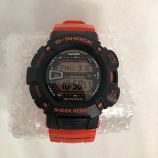 ジーショック(G-SHOCK)の海外モデル CASIO G-SHOCK 腕時計 マッドマン オレンジ(腕時計(デジタル))
