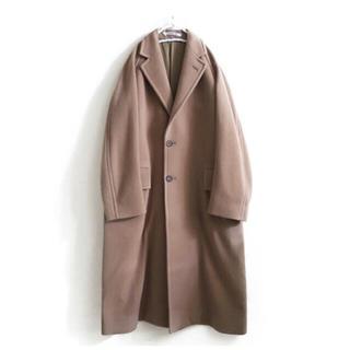 コモリ(COMOLI)の美品◆AURALEE CASHMERE WOOL MOSSER コート(ロングコート)