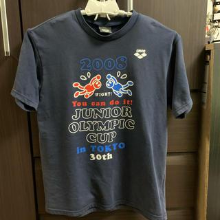 アリーナ(arena)の記念Tシャツ 全国JOCジュニアオリンピックカップ水泳競技大会 2008年(マリン/スイミング)