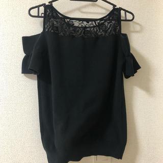 アンドクチュール(And Couture)の肩出しトップス(カットソー(半袖/袖なし))