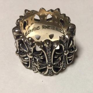 クロムハーツ(Chrome Hearts)のクロムハーツ セメタリーリング ダイヤモンドインレイ Chrome Hearts(リング(指輪))