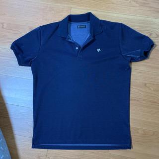 テットオム(TETE HOMME)のポロシャツ  メンズ 紺(ポロシャツ)
