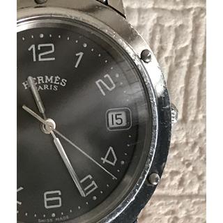 エルメス(Hermes)のエルメス  クリッパー メンズ クォーツ 中古 ダージリンティー様専用(腕時計(アナログ))