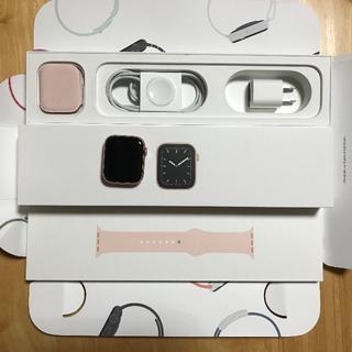 アップルウォッチ(Apple Watch)のApple Watch Series 5 44mm セルラーモデル AC+(腕時計(デジタル))