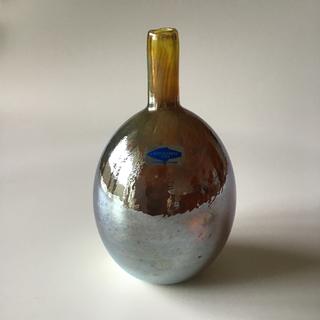 イッタラ(iittala)のオイバトイッカ フラワーベース メタリックシルバー(花瓶)