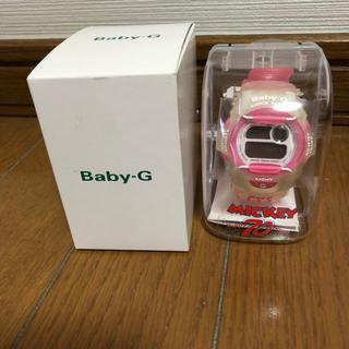 ベビージー(Baby-G)のBaby-G  70周年バージョン Minnie(腕時計)