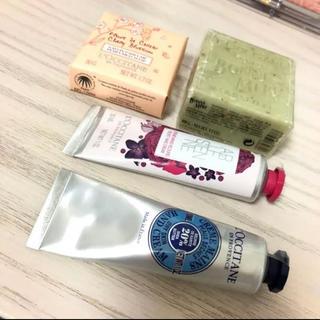 ロクシタン(L'OCCITANE)のロクシタン ハンドクリーム 石鹸 セット(ハンドクリーム)