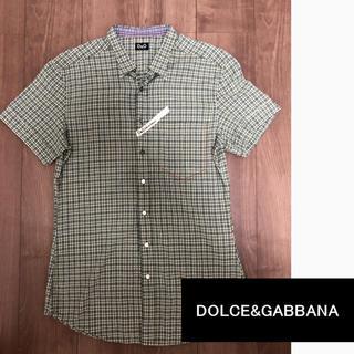 ドルチェアンドガッバーナ(DOLCE&GABBANA)のDOLCE& ガッバーナ  シャツ 美品 チェック 価格交渉OK(シャツ)