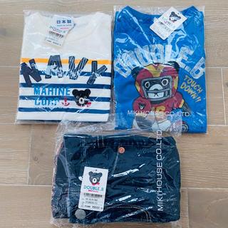 ダブルビー(DOUBLE.B)の【新品】ミキハウス ダブルビー ロンT パンツ 110(Tシャツ/カットソー)