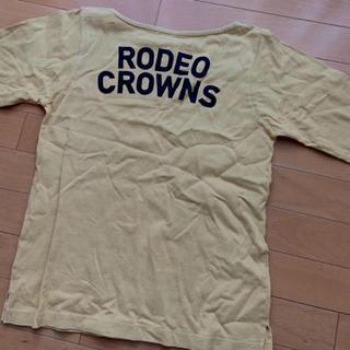 ロデオクラウンズワイドボウル(RODEO CROWNS WIDE BOWL)のRODEO CROWNS 長袖Tシャツ M(Tシャツ(長袖/七分))