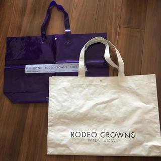 ロデオクラウンズ(RODEO CROWNS)のトートバッグ ロデオクラウンズ  ショップ袋(ショップ袋)