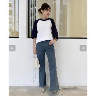 アパルトモンドゥーズィエムクラス(L'Appartement DEUXIEME CLASSE)のUPPER HIGHTS THE JAMIE FLARE PANTS サイズ24(カジュアルパンツ)