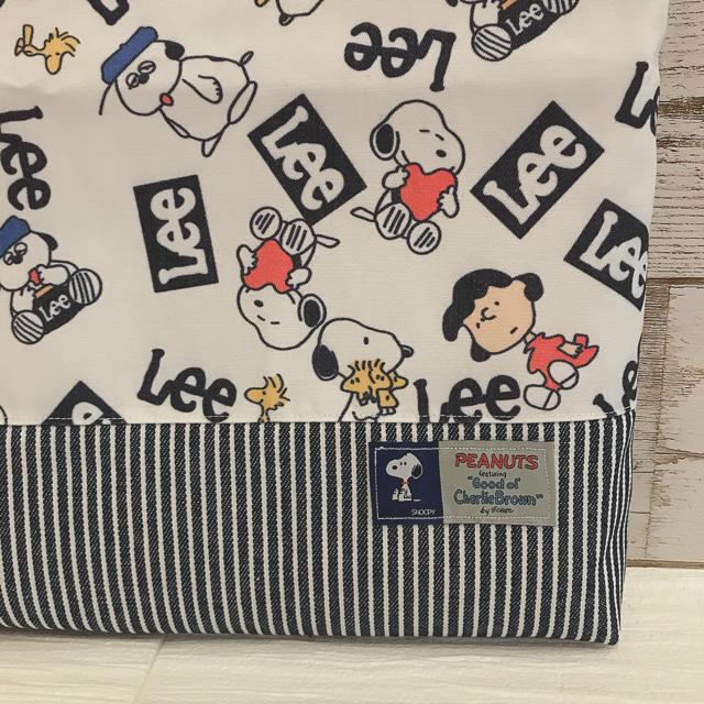 レッスンバッグ スヌーピー キッズ/ベビー/マタニティのこども用バッグ(レッスンバッグ)の商品写真