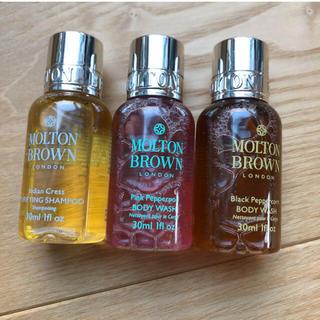 モルトンブラウン(MOLTON BROWN)のMOLTON BROWN♡3本セット(ボディソープ/石鹸)