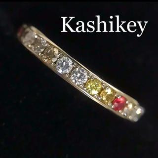 バーニーズニューヨーク(BARNEYS NEW YORK)のカシケイ ダイヤモンド&サファイア フルエタニティリング(リング(指輪))