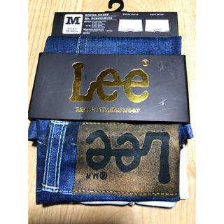 リー(Lee)の【新品】Lee メンズ ボクサーブリーフ M         インディゴブルー(ボクサーパンツ)