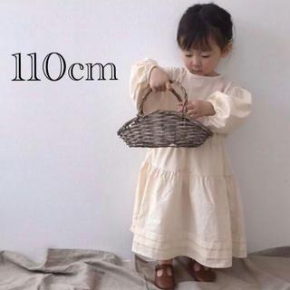 プティマイン(petit main)のロングワンピース 110cm(ワンピース)