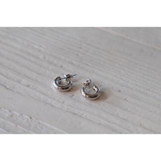 イエナスローブ(IENA SLOBE)の𓃊mini hoop pierce𓃊 silver⦅s925post(ピアス)