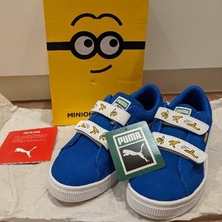 PUMA - 新品タグ付き PUMA×MINIONS スニーカー 21cm スエード 子供靴