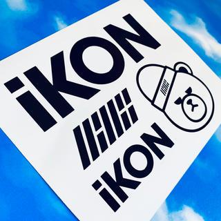 iKON アイコン 韓国 ロゴ ステッカー