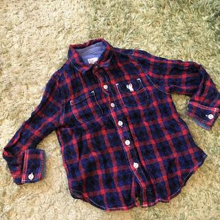 コーエン(coen)のお取り置き購入禁止です!チェック シャツ 100cm(Tシャツ/カットソー)